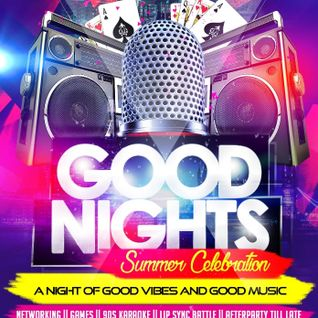 GOODNIGHTS Summer 90s Party Promo Mixtape