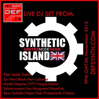Doncaster Electronic Foundation Radio - Synthetic Island, Syl Niet, Black Nail Cabaret