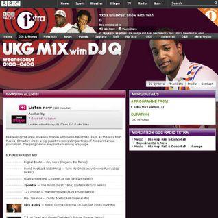 Vaden - 30.05.12 guest mix in DJ Q UKG M1X @ BBC Radio 1Xtra
