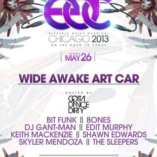 Shawn Edwards EDC CHICAGO Mix @ Wide Awake Art Car Stage 5/26/13