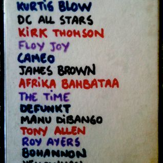Funk Afro Reggae Session @ Universal Club 1985