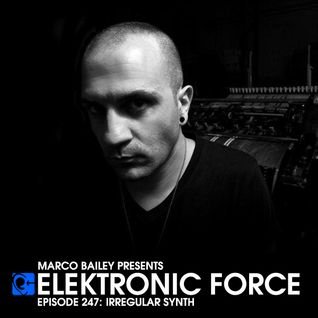 Elektronic Force Podcast 247 with Irregular Synth
