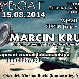 Piterson @ BeachBoys Boat with Marcin Krupa [Afterparty]
