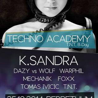 Warphil @ Techno Academy 25.10.2014 Perpetuum