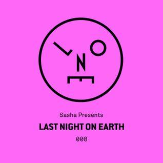 Sasha – Last Night On Earth 008 (December 2015)