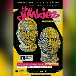 Oscar Cornell warm up: THE JUNKIES @ Underground Village Merida [Oct. 2015]