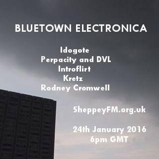 Bluetown Electronica live show 24.01.16
