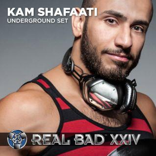 REAL BAD XXIV (2012) - Underground - DJ Kam Shafaati