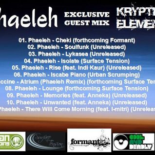 Kryptik:Elementz Exclusive Guest Mix 05: Phaeleh