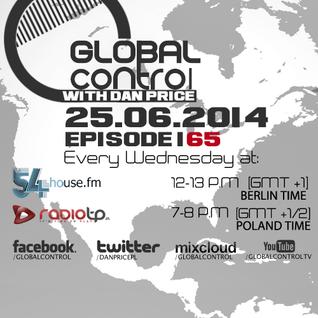 Dan Price - Global Control Episode 165 (25.06.14)