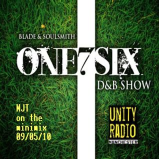 Guest mix for One7Six DnB Show (Unity Radio Manchester) - 09/05/10