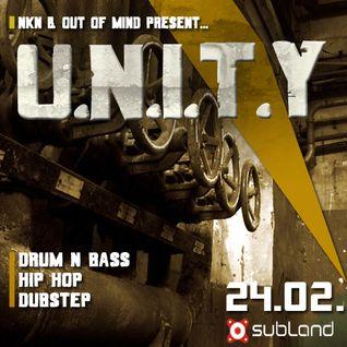 U.N.I.T.Y Dubstep (El Ninho) // (24.02 Unity Mixtape)