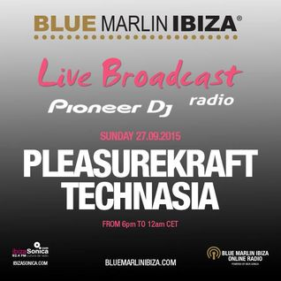 Technasia - Live @ Kraftek Showcase @ Blue Marlin Ibiza