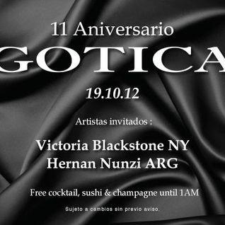 HERNAN NUNZI GROOVE TONIC 45 live in Gotica, Lima - Peru