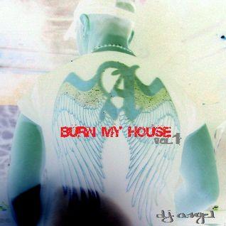 PROMO CD BURN MY HOUSE VOL.1 2013 BY DJ ANGEL