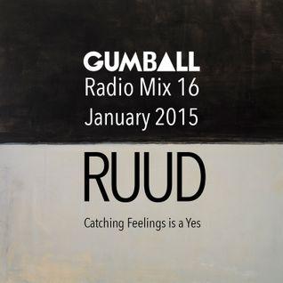GUMBALL Radio Mix 16 – January 2015 by Ruud