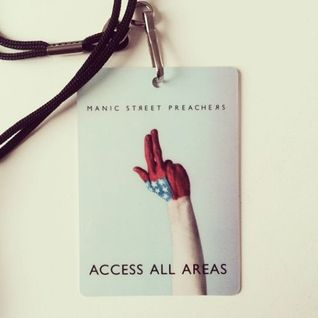 Support Dj set for Manic Street Preachers 'The Holy Bible' Tour