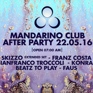 Franz Costa - Clorophilla Official After Party 22.05.16 Live At Mandarino Club Ginosa (IT)