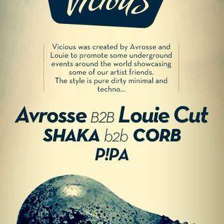 P!PA @ Avrosse & Louie Cut present VICIOUS // OpArt