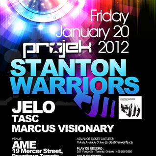 Projek : Stanton Warriors Promo Mix! Live in LA 2011
