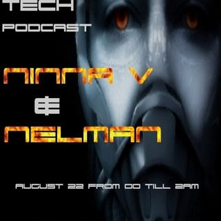 Ninna V's Dark Tech Podcast with guest Nelman August 22, 2011 @ Cuebase-FM
