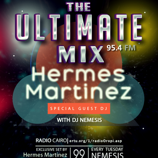 Nemesis - The Ultimate Mix Radio Show (035) 22/09/2015 (Guest Hermes Martinez)