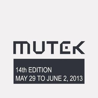 Robert Hood - Live At Mutek Montreal - 31-05-2013