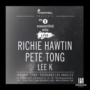 Richie Hawtin @ Exchange Los Angeles (Essential Mix) 22-01-2016