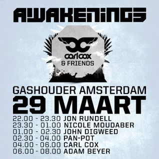 Pan-Pot @ Awakenings Easter Special, March 29, 2013