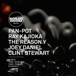 Pan-Pot - live at Boiler Room, Berlin - 26-Sep-2015