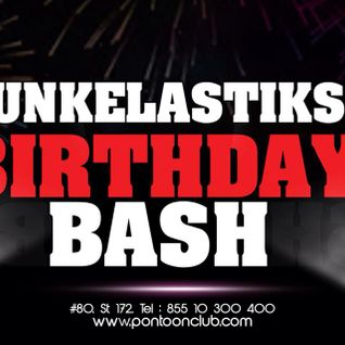 FUNKELASTIKS B-DAY BASH PART1 -PONTOON PULSE CAMBODIA