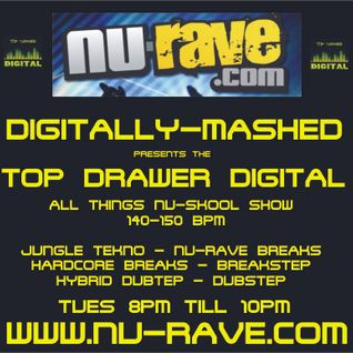 Digitally-Mashed - TDD Show Live on www.nu-rave.com 18-01-11 Pt 1 Nu-Skool