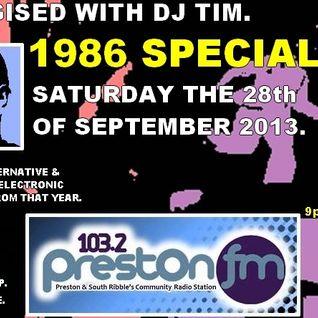 Energised With DJ Tim - 28/9/13/ - 103.2 Preston fm.