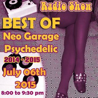 Stoned Circus SPECIAL SHOW - BEST OF 2014-2015 Garage, Psychedelic and more - July 06th, 2015