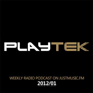 PlayTek Radio Show, Justmusic.FM - 2012/01