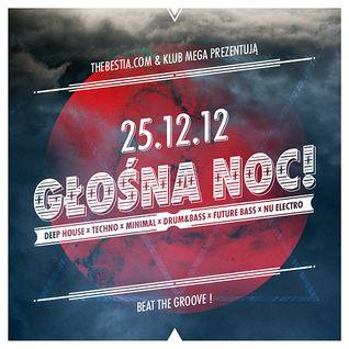 N.M.E - Deep Room @ MEGA 25.12.12 - Głośna Noc!