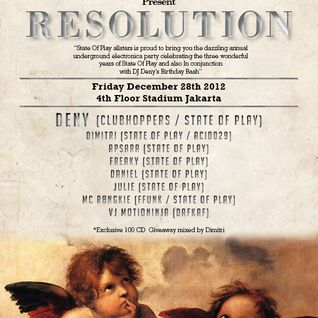 Deny 2 hours Live At Stadium for State Of Play 3rd Anniversary 28 December 2012