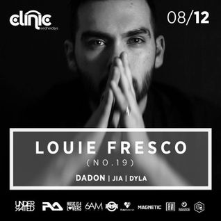 JIA Live at Clinic Wednesdays w/Louie Fresco