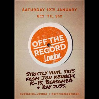Ray Juss - Live at Off The Record - Lockside Lounge - 19/01/2013
