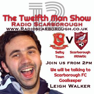 The Twelfth Man Show - Interview with Leigh Walker - Broadcast 23/07/16