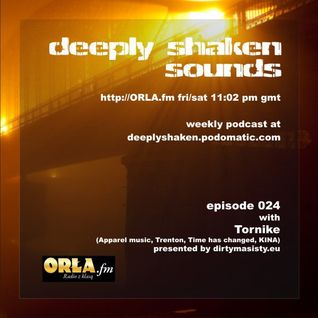 Tornike Guest mix @ DEEPLY SHAKEN SOUNDS Radio Show !! http://orla.fm/  UK///Poland