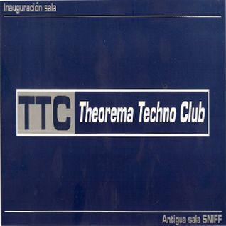 David Noir @ Theorema Techno Club (Inauguration day! 18-10-00,Zamora)