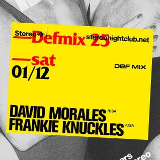 Frankie Knuckles - Live at 13yrs of Stereo, Stereo Nightclub, Montreal, Canada (01-12-2012)
