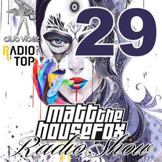 MATT THE HOUSE FOX radio show @ clubvibez EPISODE 029
