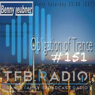 Podcast - Obligation of Trance #151