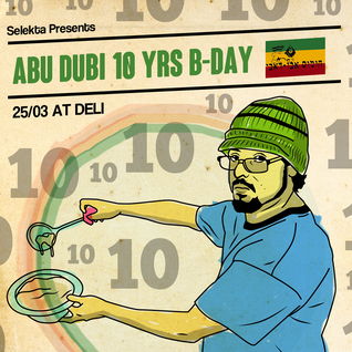Abu Dubi Sound & Mixmonster at Selekta 25.3.15