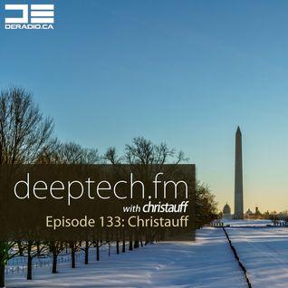 DeepTechFM 133 - Christauff (2016-01-28) [Snowzilla Deep Tech]