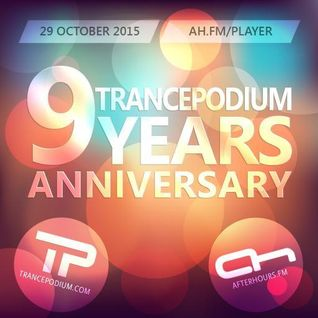 Adam Ellis – TrancePodium 9th Anniversary Celebration [29.10.2015]