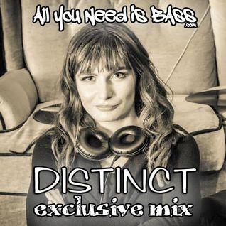 AllYouNeedisBass.com Podcast: DJ Distinct exclusive mix