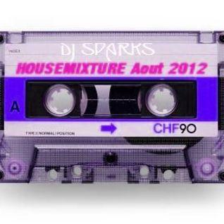 Dj Sparks - Housemixture Aout 2012